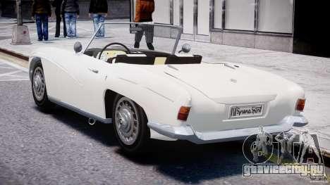 FSO Syrena Sport 1960 для GTA 4 вид сбоку