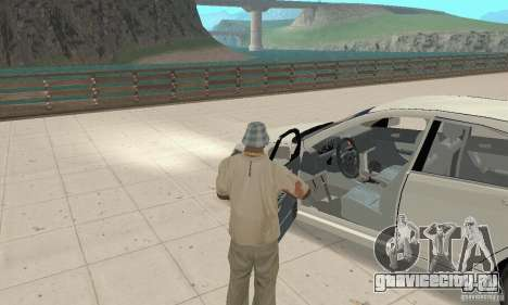 Honda Accord Comfort 2003 для GTA San Andreas вид сзади