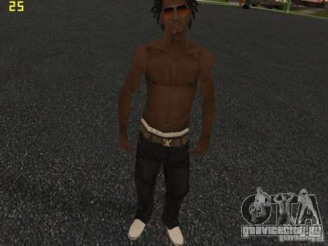 Afro-American Boy для GTA San Andreas четвёртый скриншот