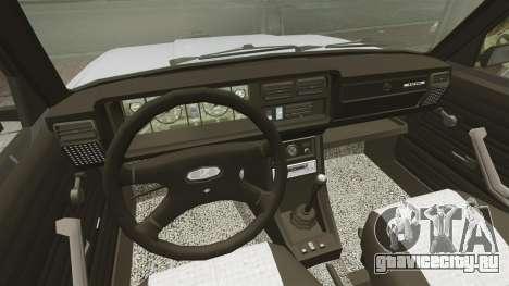 ВАЗ-2107 2011 DAG для GTA 4 вид сзади