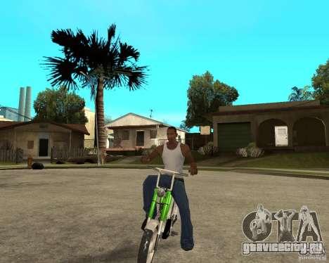 Mustang Mamba для GTA San Andreas вид сзади