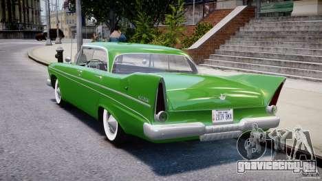 Plymouth Belvedere 1957 v1.0 для GTA 4 вид сзади слева