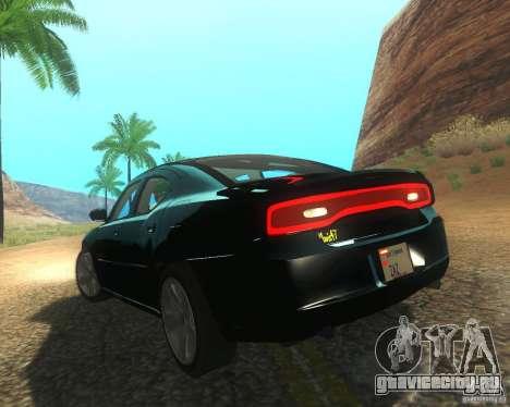 Dodge Charger 2011 для GTA San Andreas вид справа
