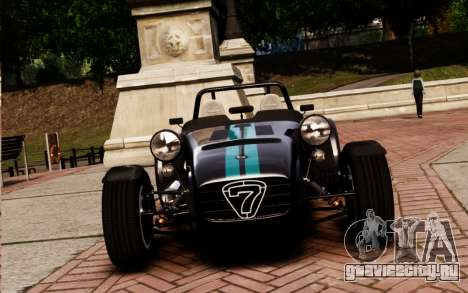 Caterham Superlight R500 v1.0 для GTA 4 вид справа