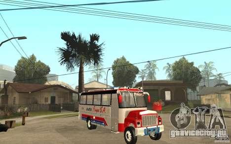 Kodiak B70 - Autofusa Colombia для GTA San Andreas вид сзади