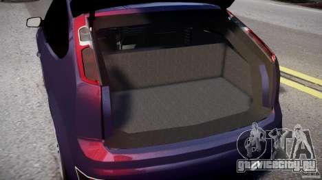 Ford Focus ST MkII 2005 для GTA 4 вид сбоку