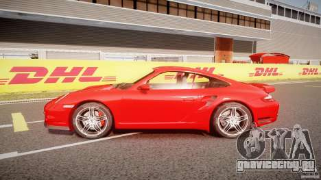 Porsche 911 Turbo V3 (final) для GTA 4 вид слева
