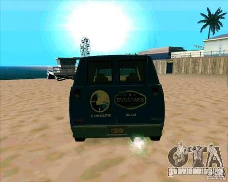 BUGSTARS Burrito from GTA IV для GTA San Andreas вид справа