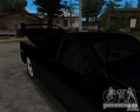 Chevrolet Silverado 1996 Lowrider для GTA San Andreas вид слева