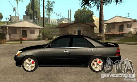 TOYOTA MARK II для GTA San Andreas вид слева