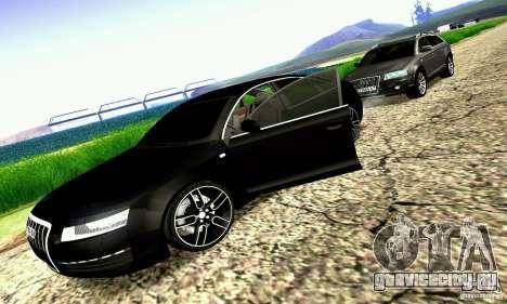Audi A6 Blackstar для GTA San Andreas