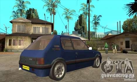 Peugeot 205 GTI для GTA San Andreas
