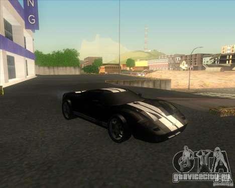 Ford GT stock для GTA San Andreas