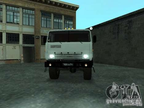 КамАЗ 4310 Вахта для GTA San Andreas
