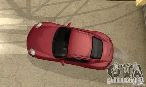 Porsche Cayman S для GTA San Andreas вид сбоку