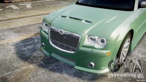 Chrysler 300C SRT8 Tuning для GTA 4 вид сверху