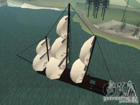 XVIII Century Battleship для GTA San Andreas