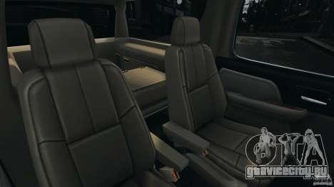 Chevrolet Suburban GMT900 2008 v1.0 для GTA 4 вид сбоку