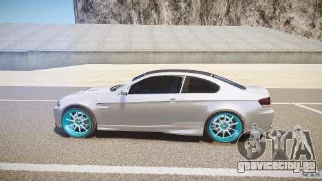 BMW E92 для GTA 4 вид слева
