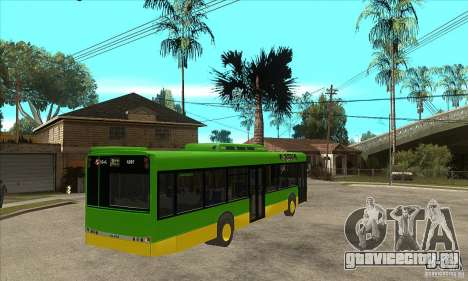 Solaris Urbino 11 для GTA San Andreas вид справа