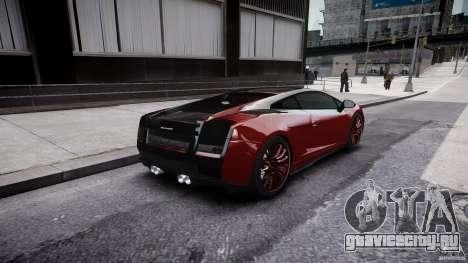 Lamborghini Gallardo Superleggera 2007 (Beta) для GTA 4 вид сверху