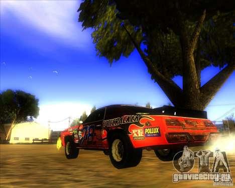 Bonecracker из FlatOut 1 для GTA San Andreas вид сзади слева
