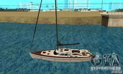 GTAIV Marquis для GTA San Andreas вид слева