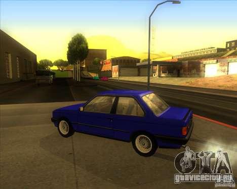 BMW E30 323i для GTA San Andreas вид слева