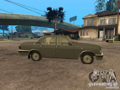 ГАЗ 3110 v 2 для GTA San Andreas вид слева