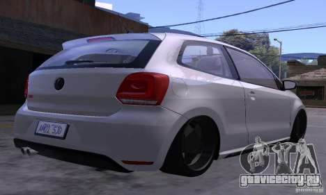Volkswagen Polo GTI Stanced для GTA San Andreas