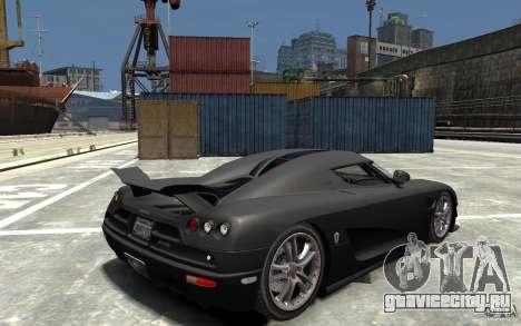 Koenigsegg CCXR Edition V1.0 для GTA 4 вид справа