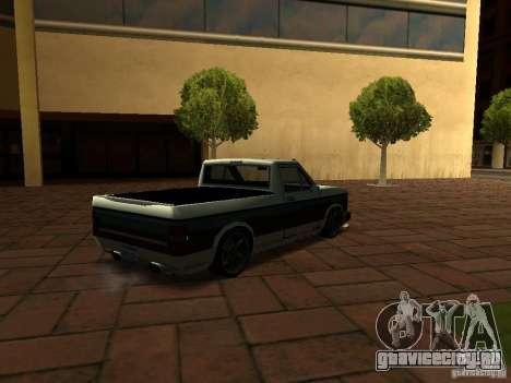 New Tuned Bobcat для GTA San Andreas вид слева