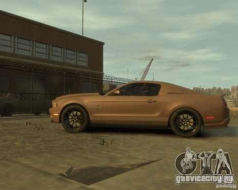 2011 Shelby GT500 Super Snake для GTA 4 вид слева