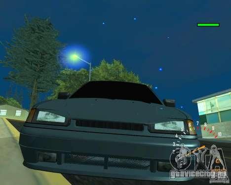 ВАЗ 2113 Ferarri для GTA San Andreas вид сверху