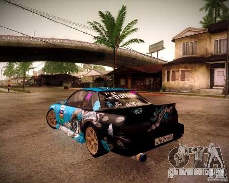 Nissan Silvia S13 NonGrata из Moscow Drift для GTA San Andreas вид слева