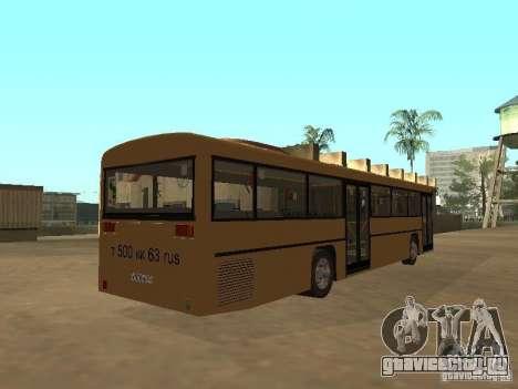 Man 202 для GTA San Andreas вид изнутри