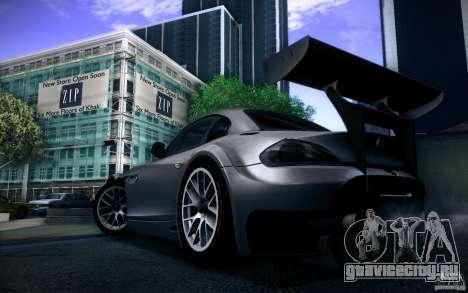 BMW Z4 E89 GT3 2010 для GTA San Andreas вид сзади