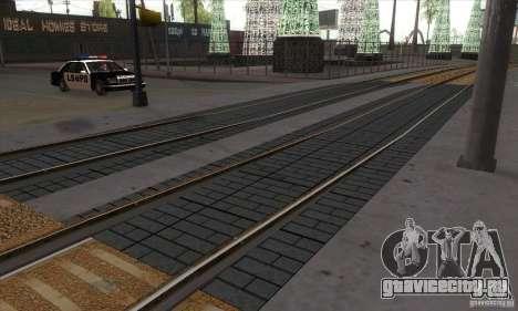 Russian Rail v2.0 для GTA San Andreas третий скриншот