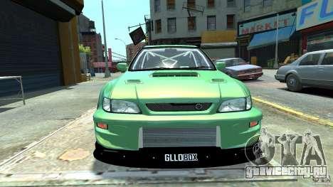 Subaru Impreza 22B STI 1999 для GTA 4 вид сзади слева