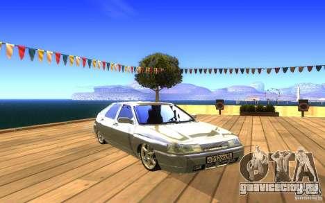 ВАЗ 2112 LT для GTA San Andreas вид снизу