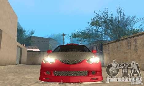 Acura RSX New для GTA San Andreas колёса