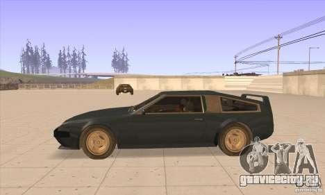 Deluxo HD для GTA San Andreas вид слева