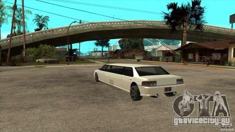 Sultan лимузин для GTA San Andreas вид сзади слева