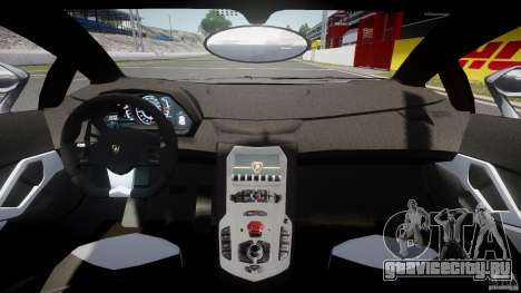 Lamborghini Aventador LP700-4 2011 [EPM] для GTA 4 вид сзади