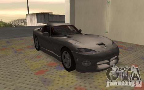 Dodge Viper GTS Tunable для GTA San Andreas вид слева
