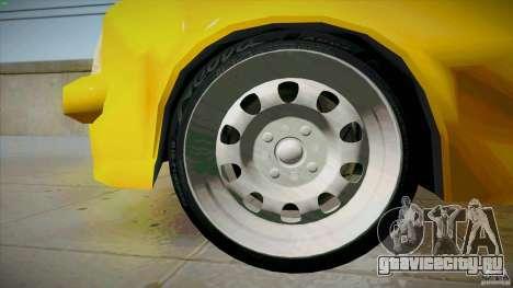 Opel Kadett D GTE Mattig Tuning для GTA San Andreas вид снизу