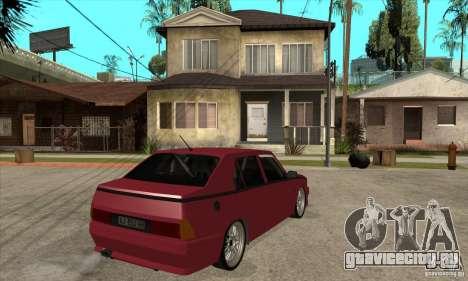 Alfa Romeo 75 Drifting для GTA San Andreas вид справа
