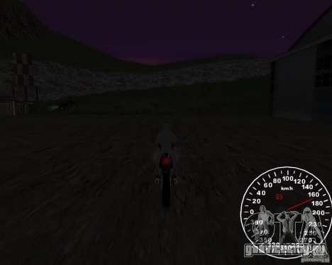 Спидометр 2.0 final для GTA San Andreas