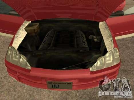Dodge Intrepid для GTA San Andreas вид сзади слева