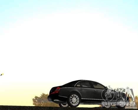 Maybach 57S для GTA San Andreas вид слева